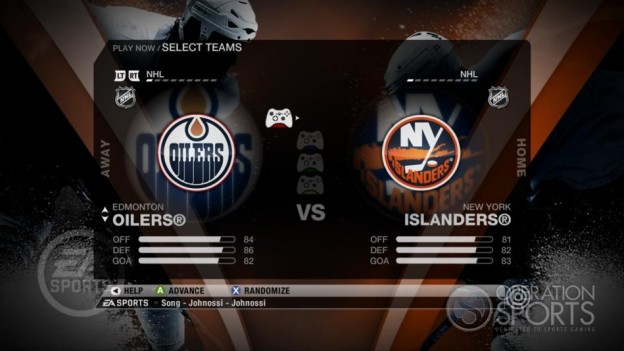 NHL 09 Screenshot #34 for Xbox 360