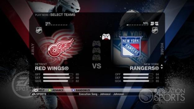 NHL 09 Screenshot #35 for Xbox 360