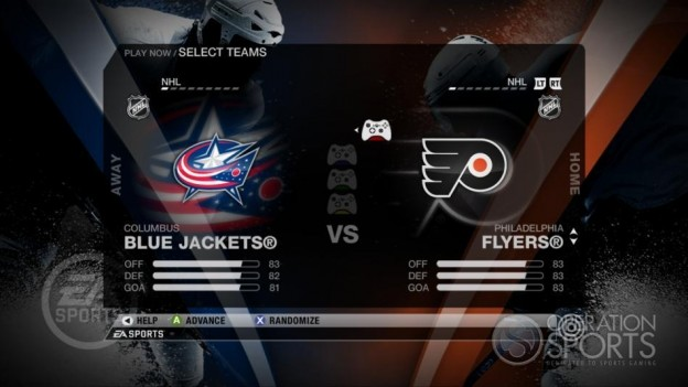 NHL 09 Screenshot #37 for Xbox 360
