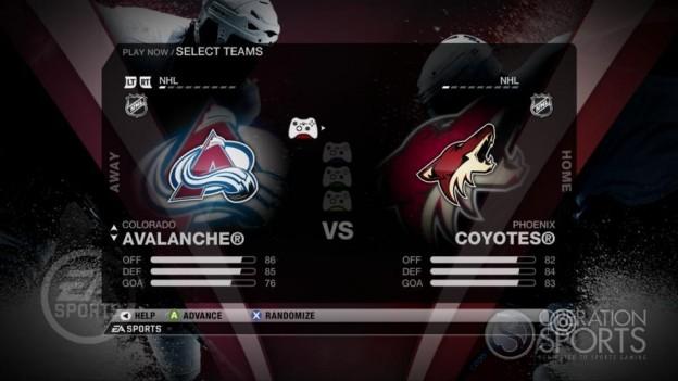 NHL 09 Screenshot #38 for Xbox 360
