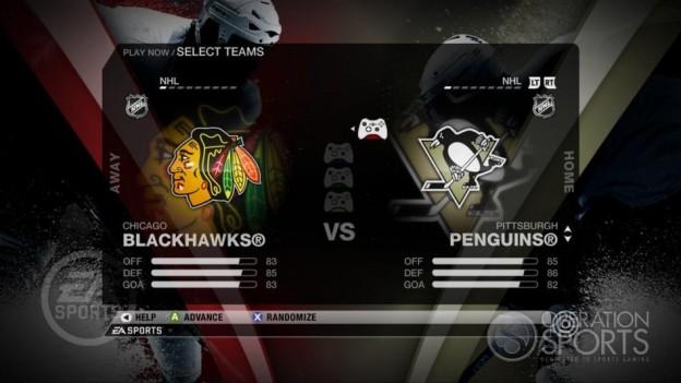 NHL 09 Screenshot #39 for Xbox 360