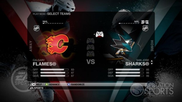 NHL 09 Screenshot #41 for Xbox 360