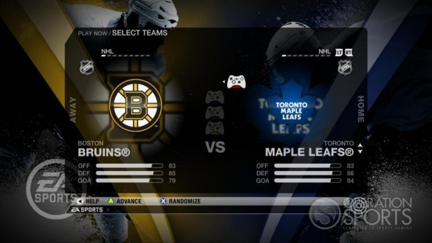 NHL 09 Screenshot #43 for Xbox 360