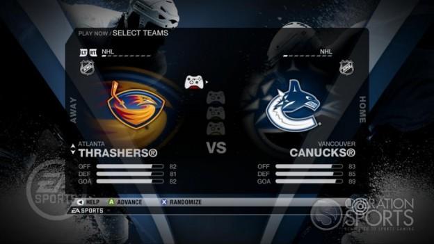 NHL 09 Screenshot #44 for Xbox 360