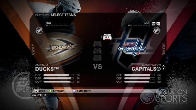 NHL 09 Screenshot #45 for Xbox 360