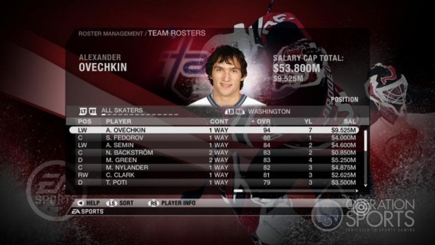 NHL 09 Screenshot #46 for Xbox 360