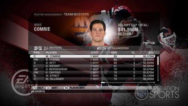NHL 09 Screenshot #57 for Xbox 360