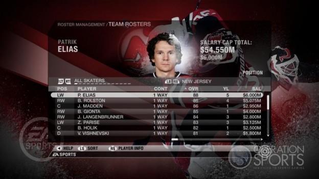 NHL 09 Screenshot #58 for Xbox 360