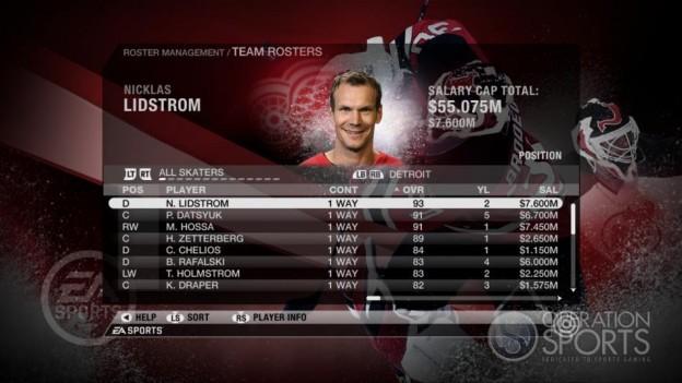 NHL 09 Screenshot #65 for Xbox 360