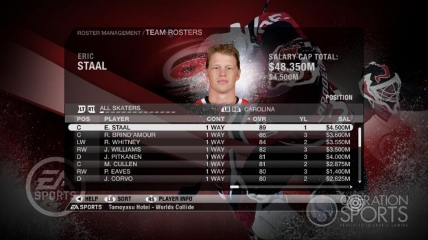 NHL 09 Screenshot #70 for Xbox 360