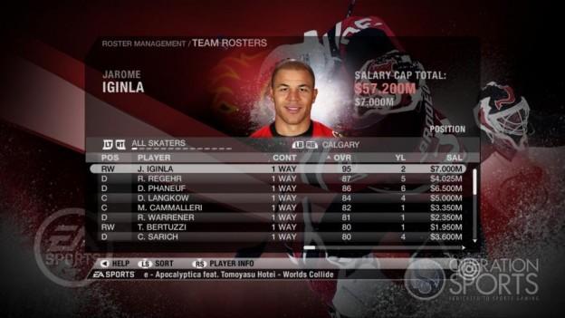 NHL 09 Screenshot #71 for Xbox 360