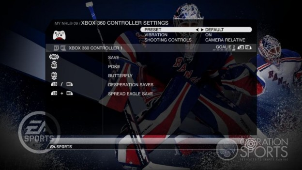 NHL 09 Screenshot #76 for Xbox 360