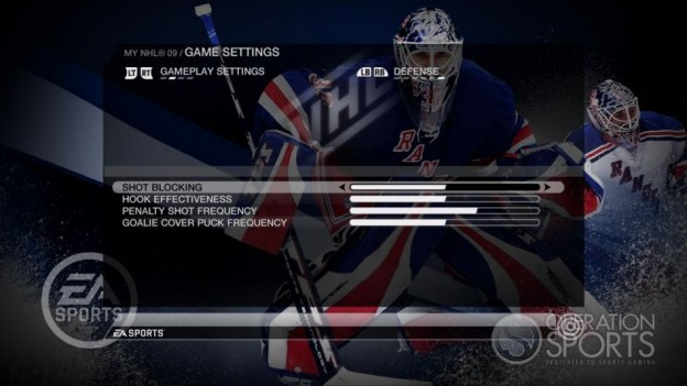 NHL 09 Screenshot #84 for Xbox 360