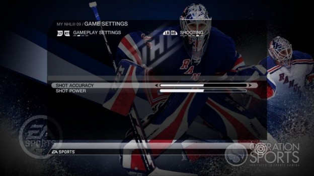 NHL 09 Screenshot #85 for Xbox 360