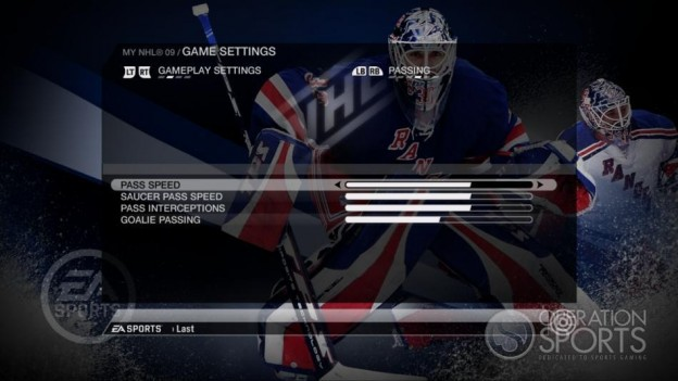 NHL 09 Screenshot #86 for Xbox 360