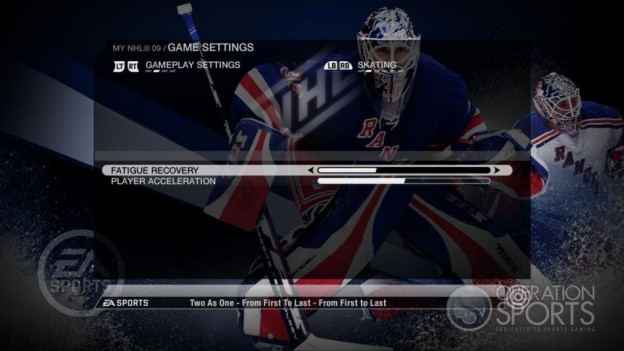 NHL 09 Screenshot #88 for Xbox 360
