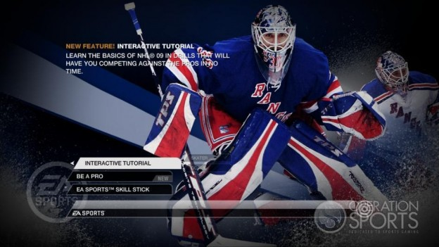 NHL 09 Screenshot #91 for Xbox 360