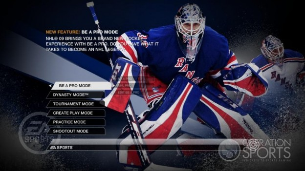 NHL 09 Screenshot #98 for Xbox 360