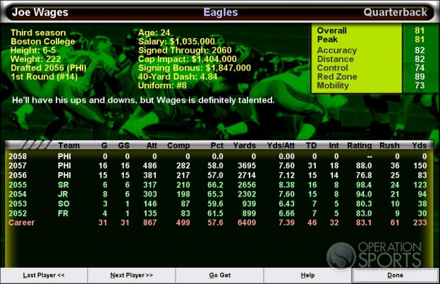 Football Mogul 2009 Screenshot #1 for PC