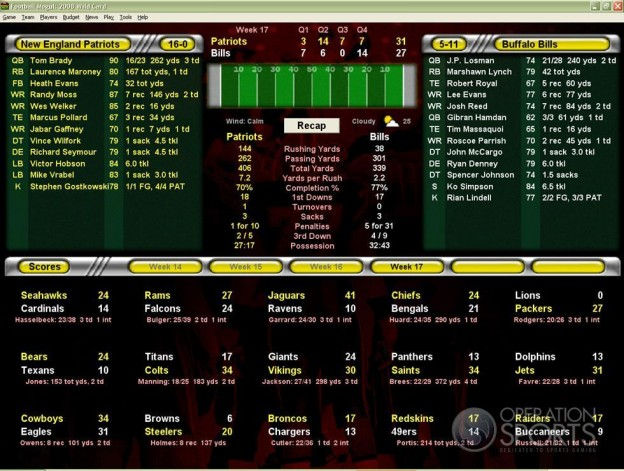 Football Mogul 2009 Screenshot #2 for PC