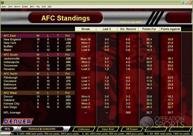 Football Mogul 2009 Screenshot #3 for PC