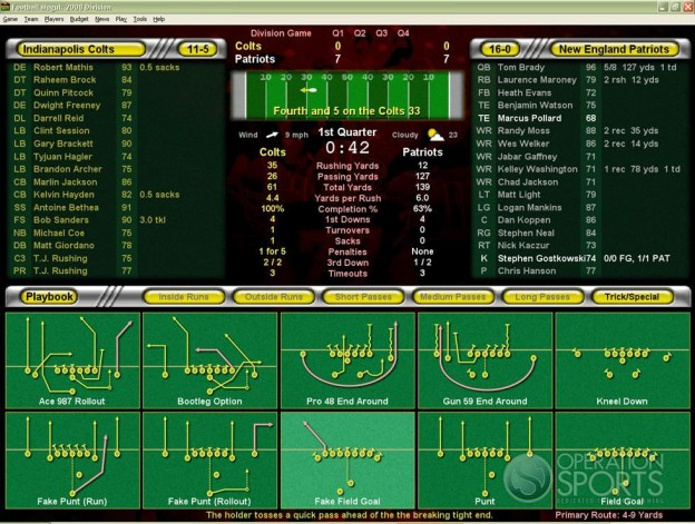 Football Mogul 2009 Screenshot #6 for PC