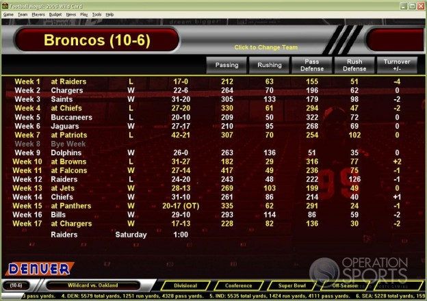 Football Mogul 2009 Screenshot #8 for PC