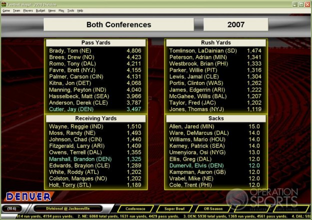 Football Mogul 2009 Screenshot #9 for PC