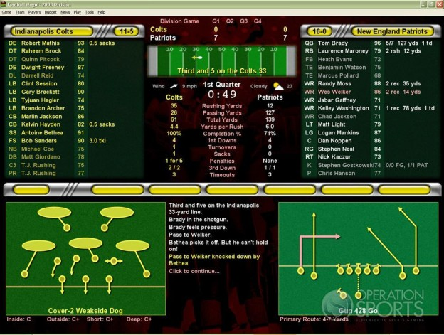 Football Mogul 2009 Screenshot #11 for PC