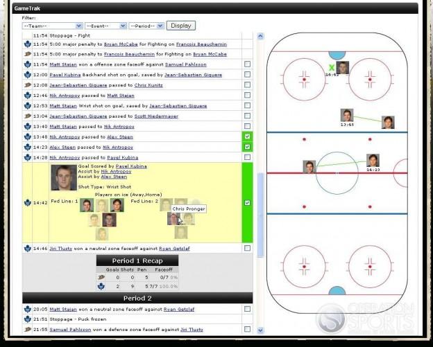 NHL 2K9 Screenshot #110 for Xbox 360