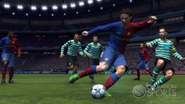 Pro Evolution Soccer 2009 Screenshot #8 for Xbox 360