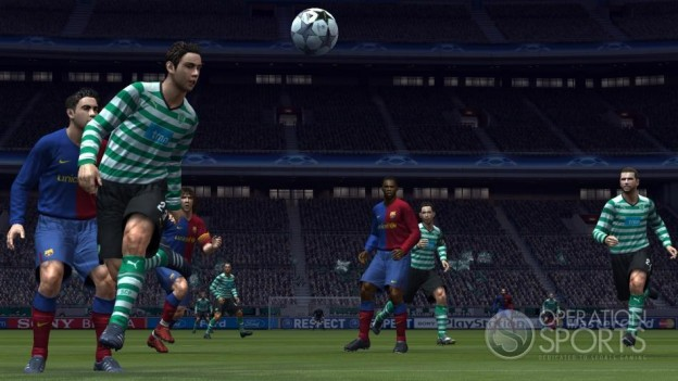 Pro Evolution Soccer 2009 Screenshot #11 for Xbox 360