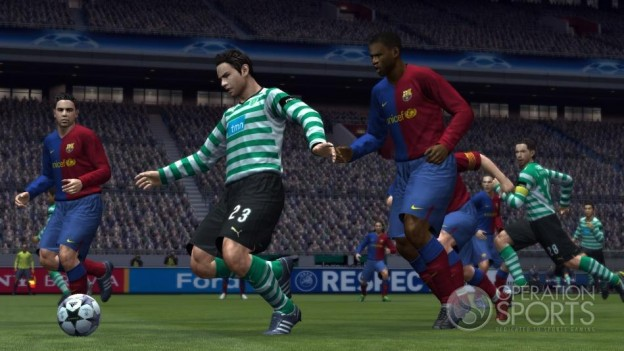 Pro Evolution Soccer 2009 Screenshot #12 for Xbox 360
