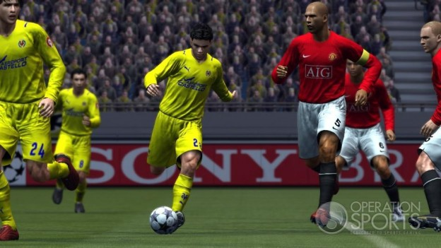 Pro Evolution Soccer 2009 Screenshot #13 for Xbox 360