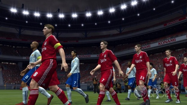 Pro Evolution Soccer 2009 Screenshot #15 for Xbox 360