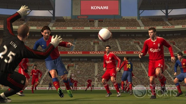 Pro Evolution Soccer 2009 Screenshot #16 for Xbox 360