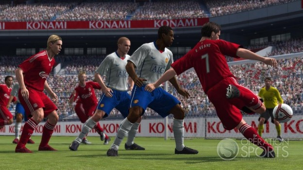 Pro Evolution Soccer 2009 Screenshot #18 for Xbox 360