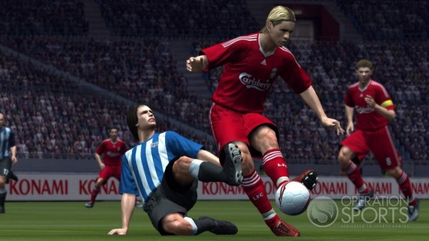 Pro Evolution Soccer 2009 Screenshot #21 for Xbox 360
