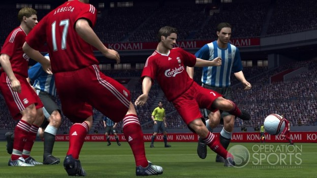 Pro Evolution Soccer 2009 Screenshot #24 for Xbox 360