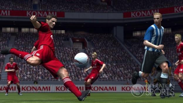 Pro Evolution Soccer 2009 Screenshot #25 for Xbox 360