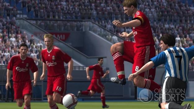 Pro Evolution Soccer 2009 Screenshot #26 for Xbox 360