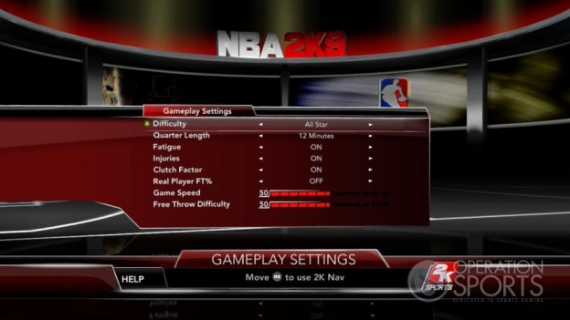 NBA 2K9 Screenshot #43 for Xbox 360