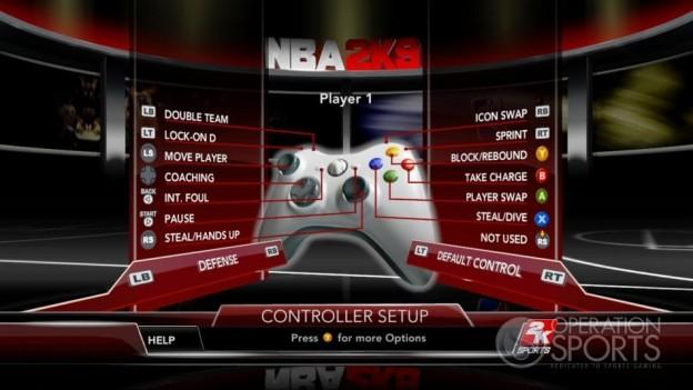 NBA 2K9 Screenshot #46 for Xbox 360
