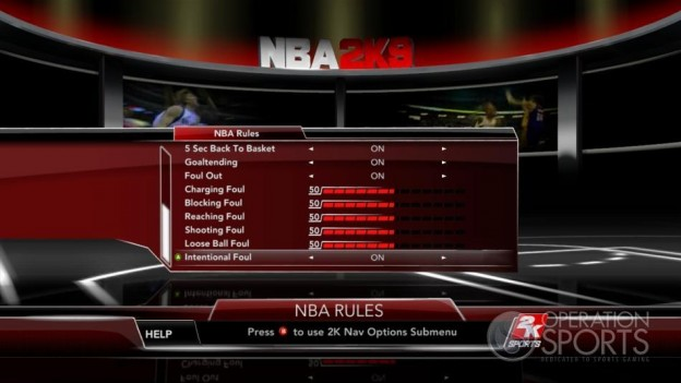 NBA 2K9 Screenshot #48 for Xbox 360