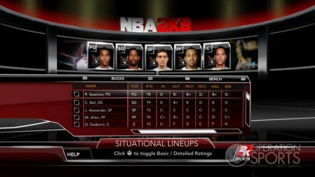 NBA 2K9 Screenshot #50 for Xbox 360