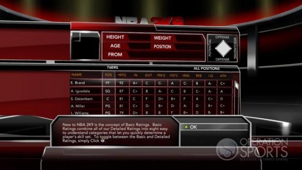 NBA 2K9 Screenshot #52 for Xbox 360