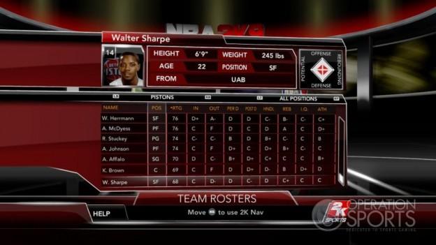 NBA 2K9 Screenshot #90 for Xbox 360