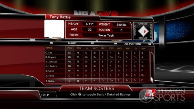 NBA 2K9 Screenshot #102 for Xbox 360