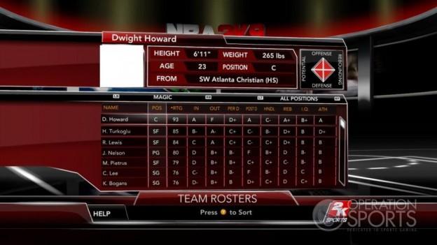 NBA 2K9 Screenshot #103 for Xbox 360