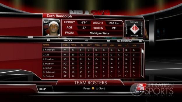 NBA 2K9 Screenshot #107 for Xbox 360